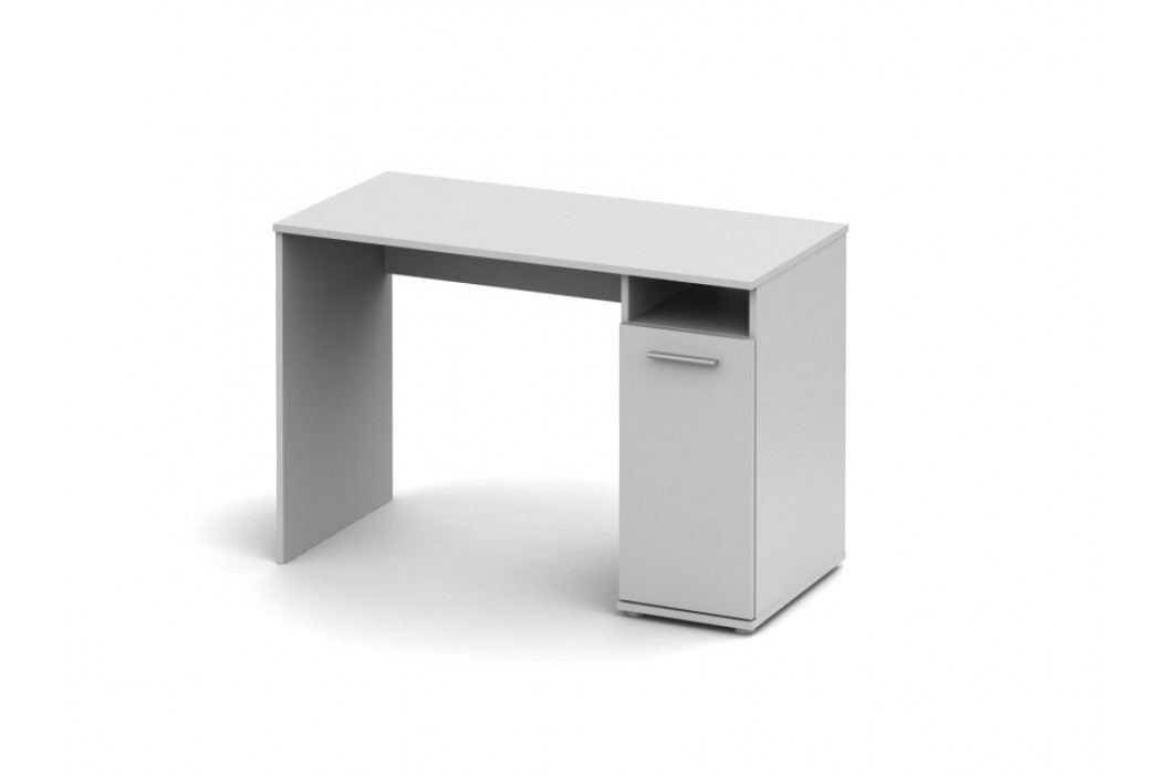Tempo Kondela Psací stůl se skříňkou SINGA 21, bílá
