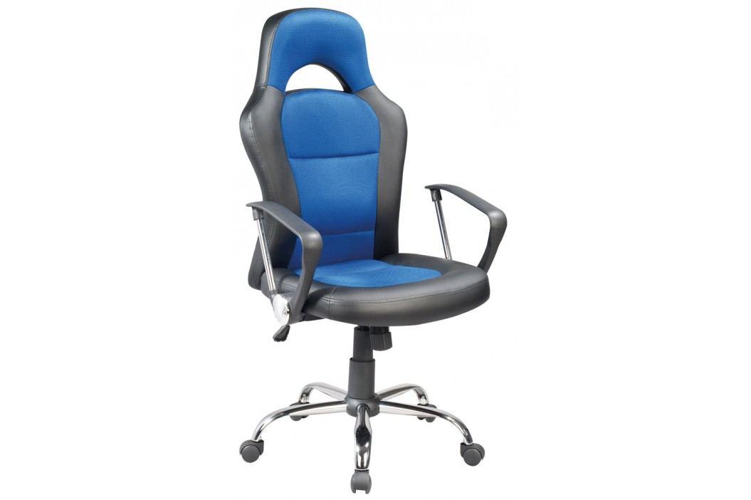 Kancelářské křeslo Q-033 černá/modrá
