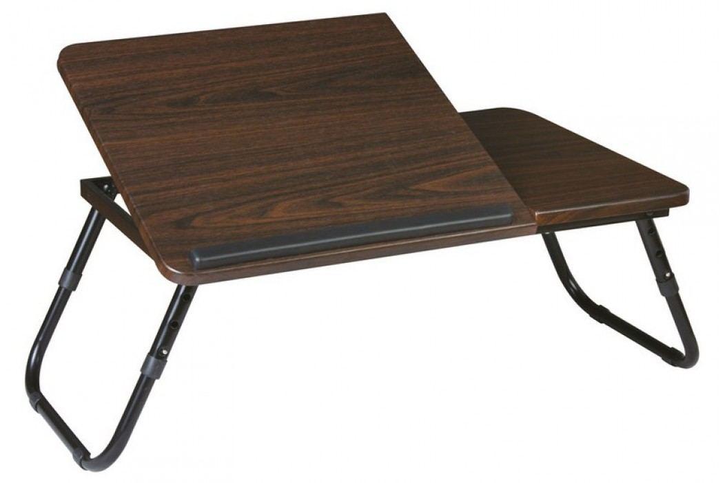 Smartshop Kancelářský stolek B-26, tmavě hnědá