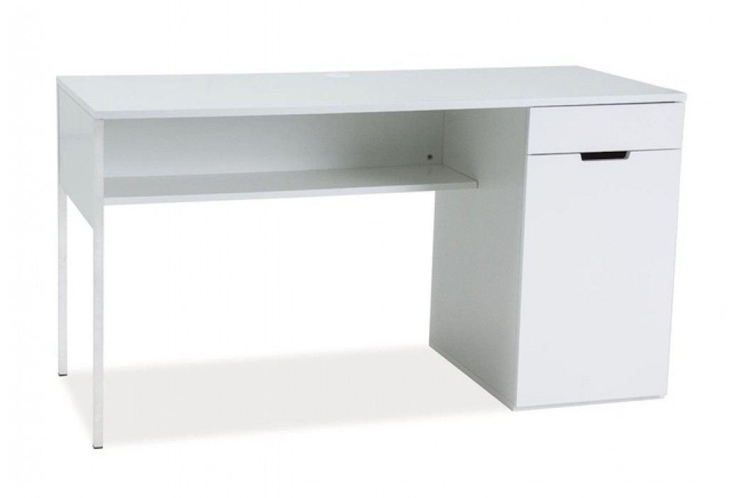 Smartshop Psací stůl DOMINO B1, bílá
