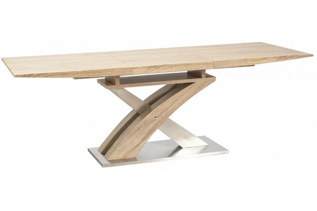 Jídelní stůl RAUL rozkládací, dub sonoma