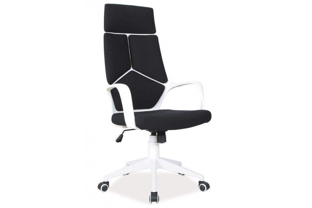 Smartshop Kancelářské křeslo Q-199 černá/bílá