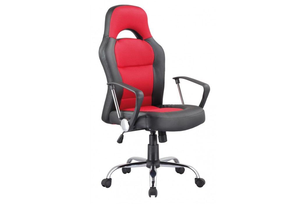 Smartshop Kancelářské křeslo Q-033 černá/červená