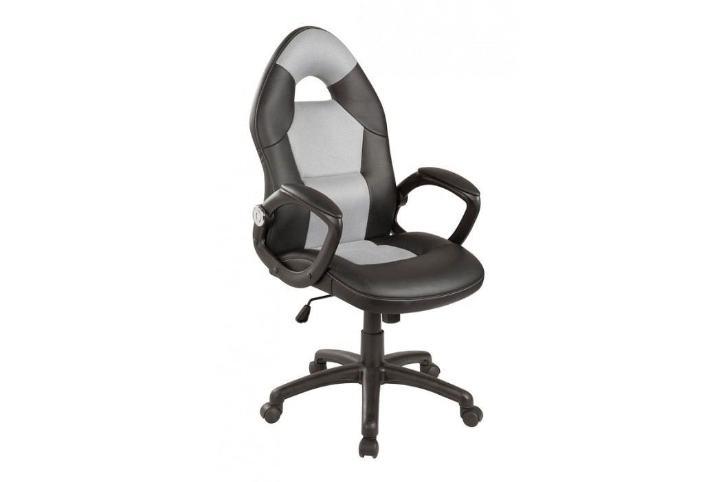 Smartshop Kancelářské křeslo Q-057 černá/šedá
