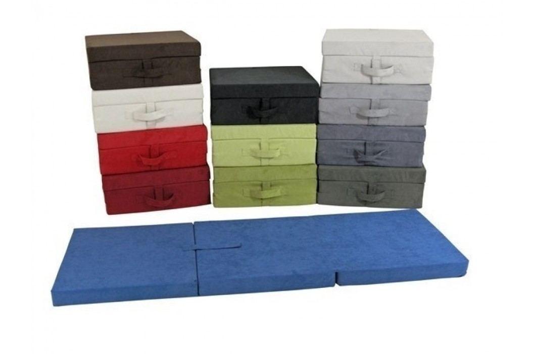 Skládací matrace pro návštěvy - Tom, barva zelená