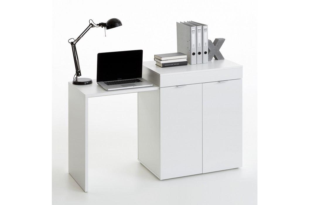 Idea Psací stůl STRETCH 2, bílý
