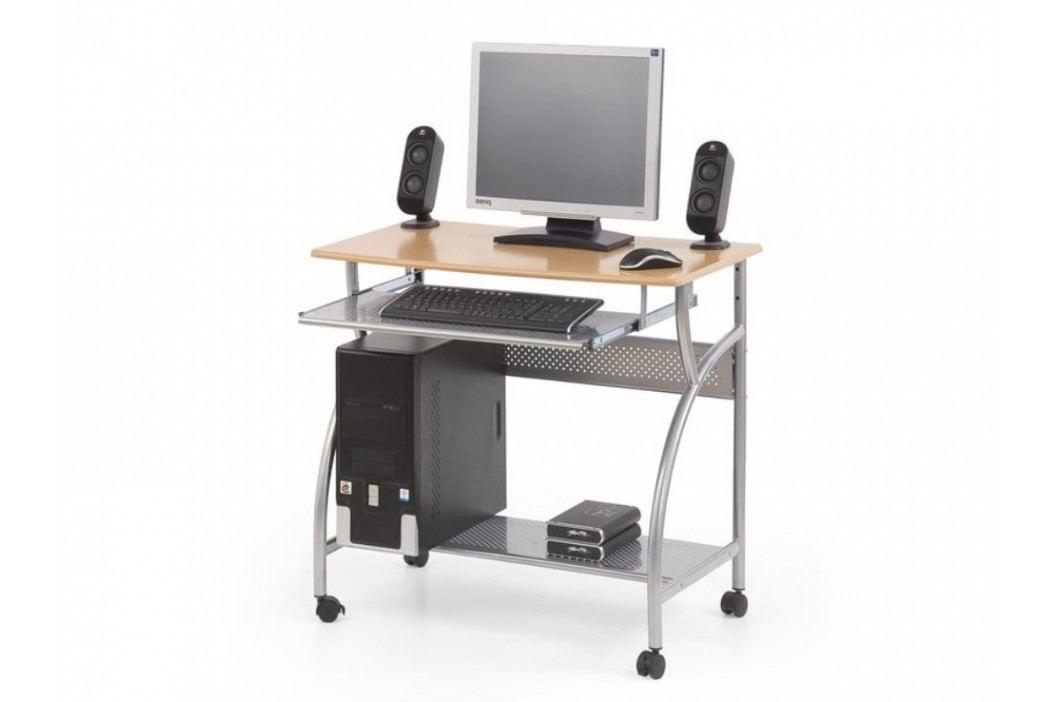 PC stůl na kolečkách B-6, olše