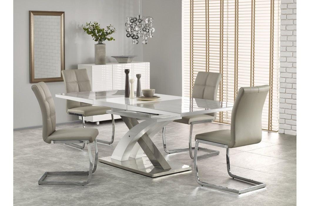 Jídelní stůl rozkládací SANDOR 2, 160/220x90 cm, šedý