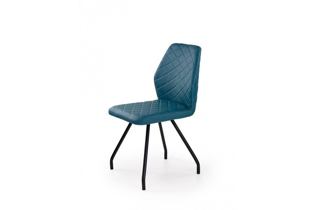 Jídelní židle K242, tyrkysová obrázek inspirace