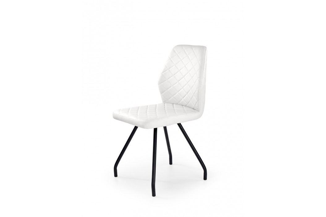 Jídelní židle K242, bílá