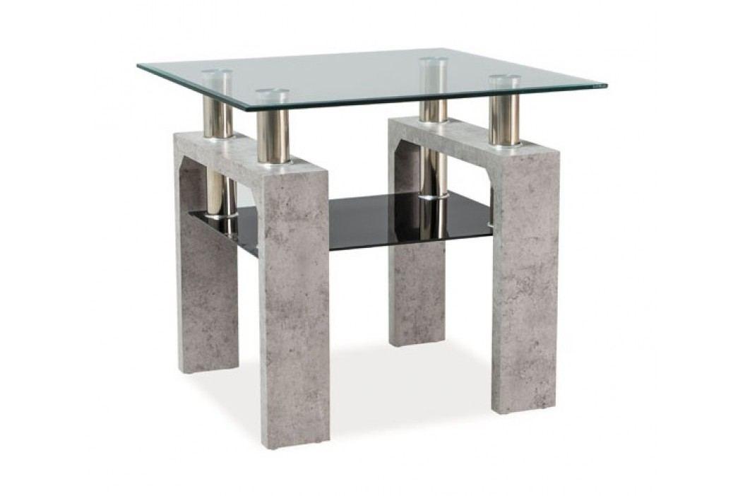 Konferenční stolek LISA D, beton obrázek inspirace