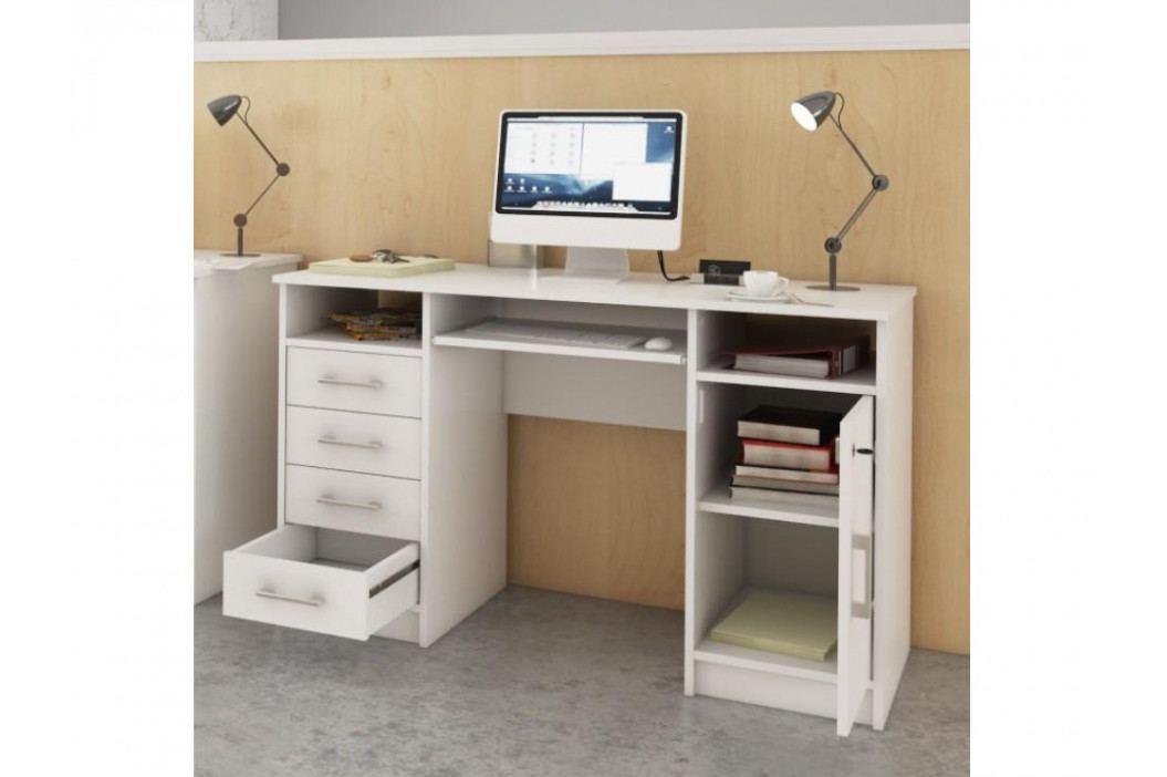B9 psací stůl, bílá