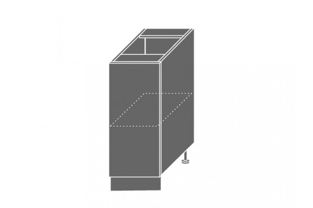 EMPORIUM, skříňka dolní D1D 30, korpus: lava, barva: light grey stone