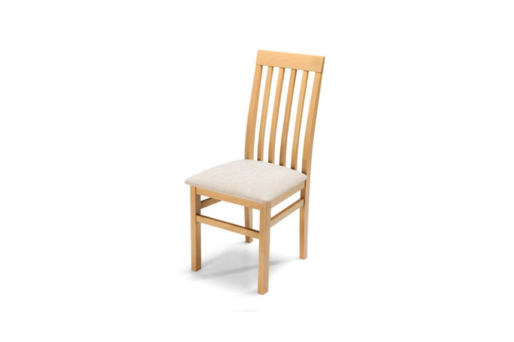 Čalouněná jídelní židle QUEEN PLUS, buk