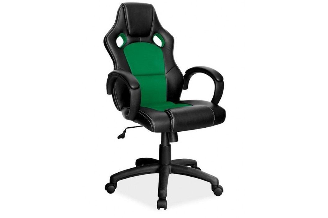 Kancelářské křeslo Q-103, černá/zelená obrázek inspirace