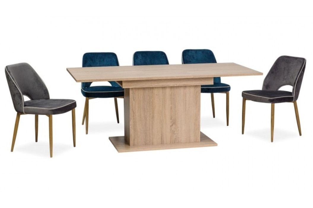 Jídelní stůl rozkládací RENO II 140-180x80, dub sonoma