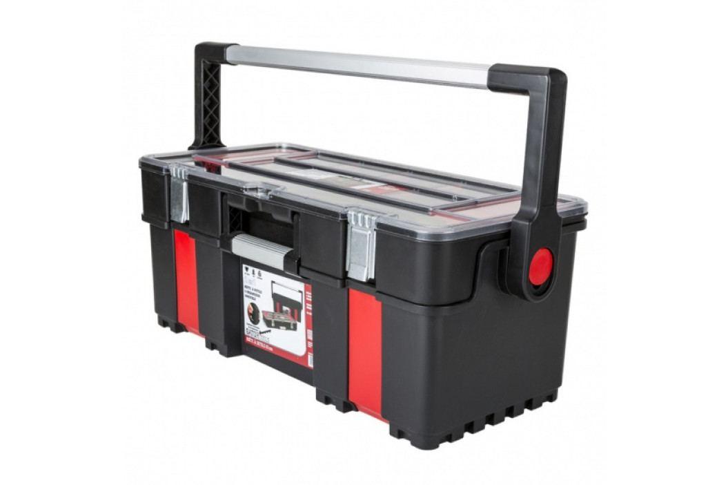 B2B Partner Plastový kufr na nářadí s organizérem