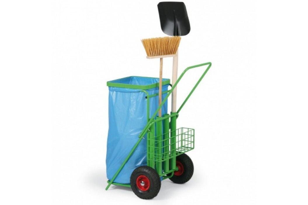Úklidový vozík pro venkovní prostory