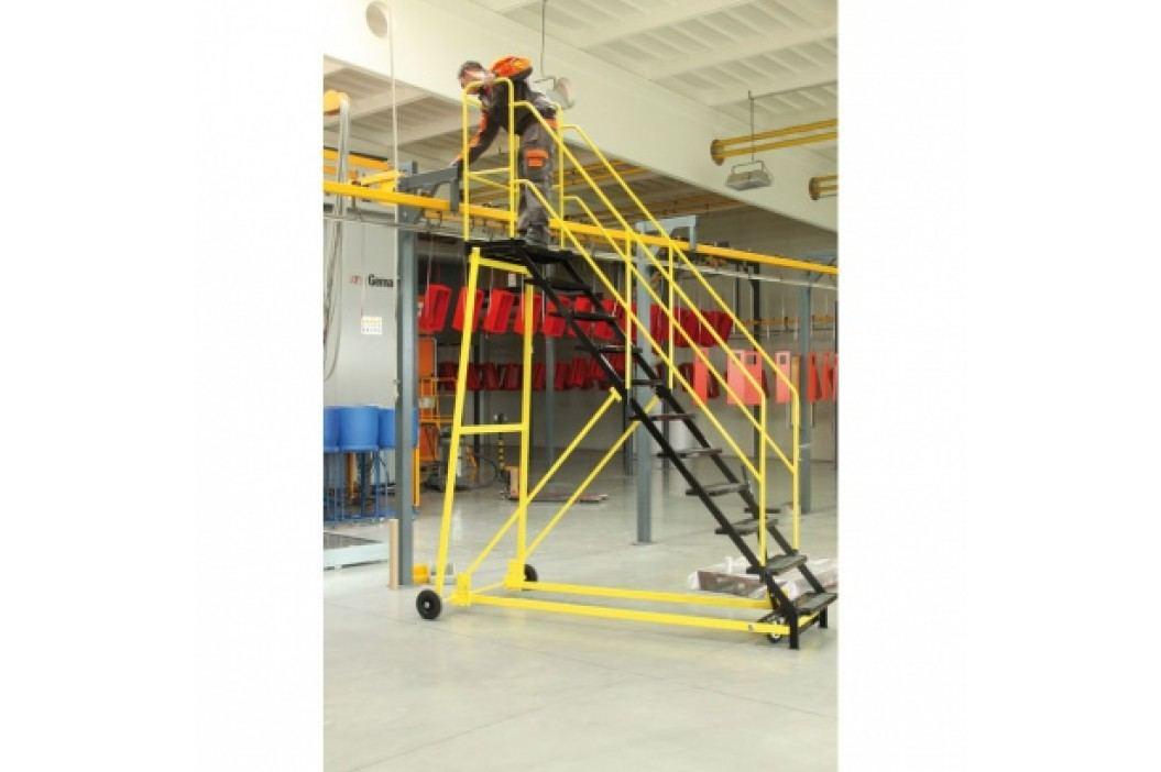 Plošinový žebřík - plošina 2,03 m, vodovzdorná překližka