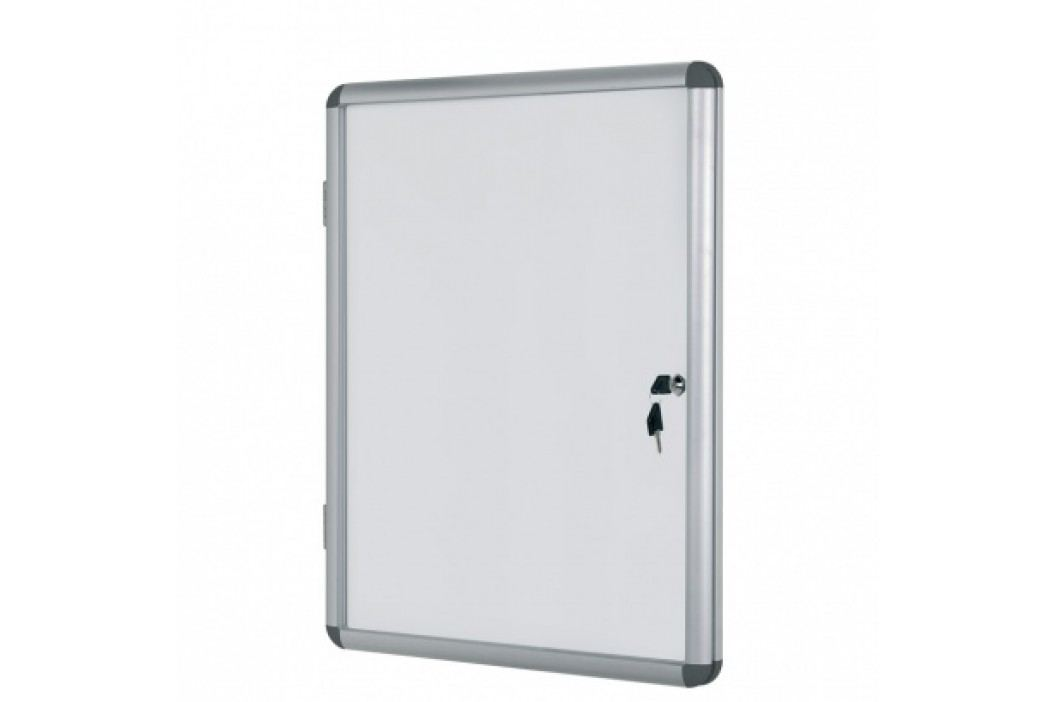Bi-Office Vitrína s bílým magnetickým povrchem, 720x980 mm