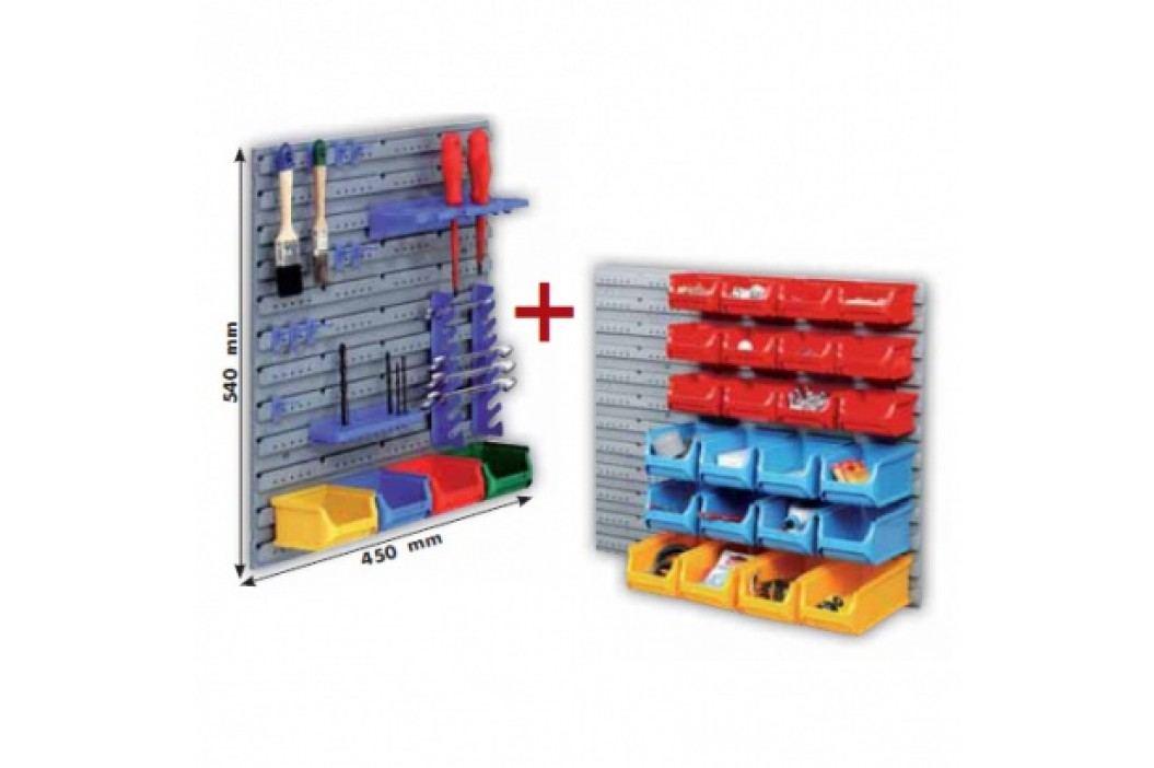 Allit Plastové stěny včetně boxů a držáků nářadí