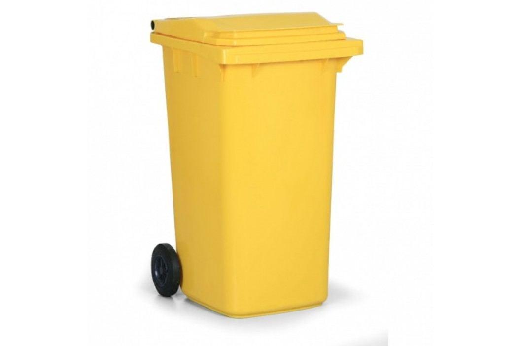 Plastová popelnice CLD 240 litrů, žlutá