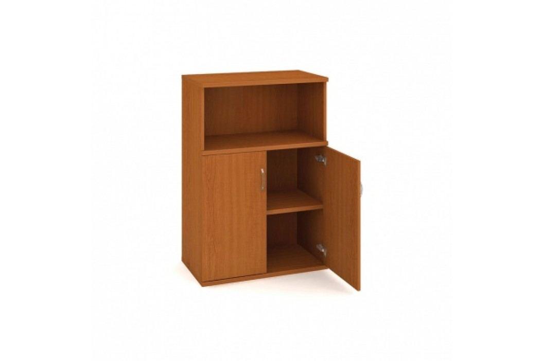 HOBIS Skříňka dvoudveřová - policová s nikou