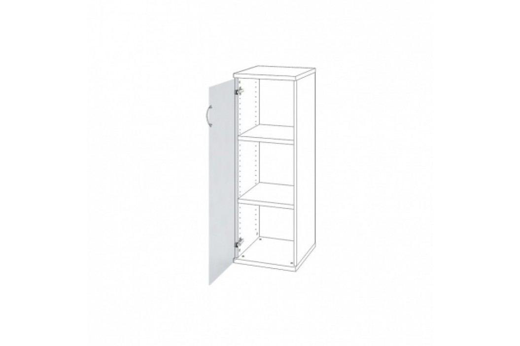 HOBIS Dveře s mléčným sklem levé