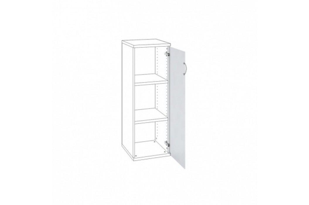 HOBIS Dveře s mléčným sklem pravé