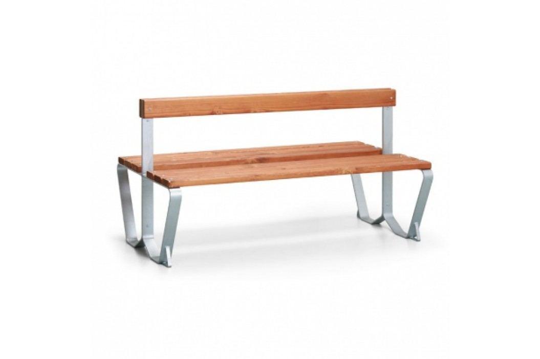 Parková lavička CLUB s opěradlem