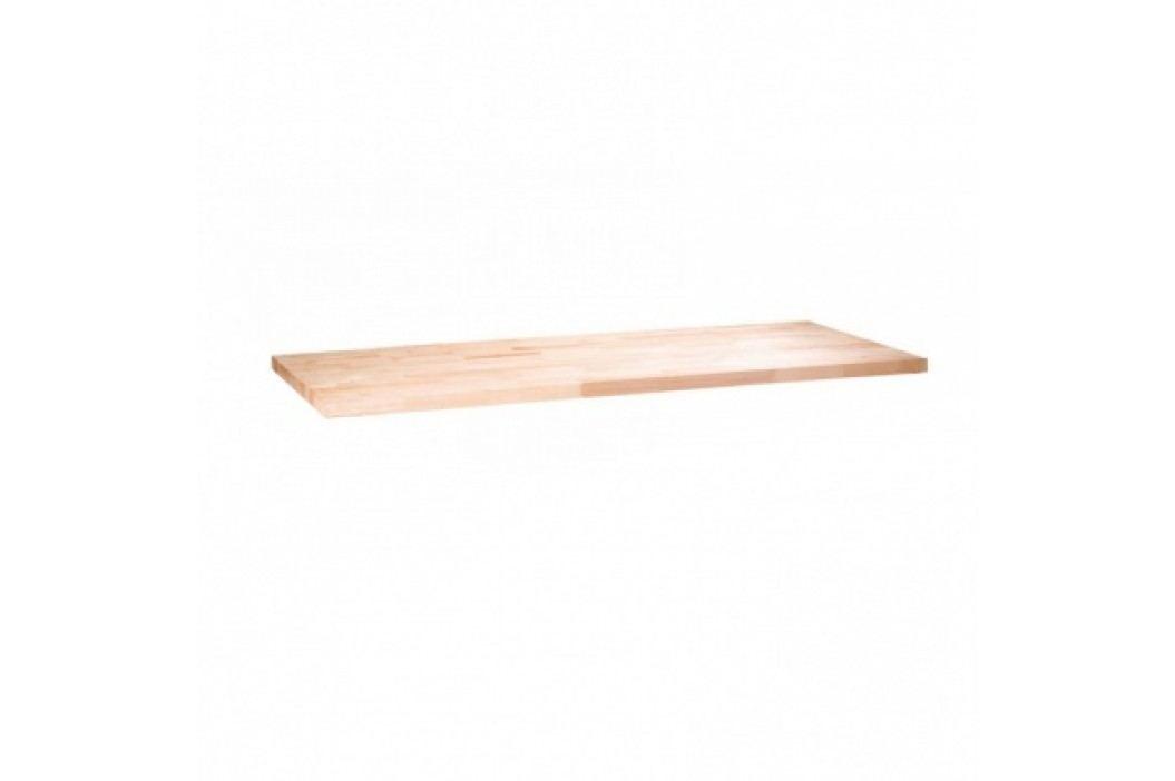 Pracovní deska pro dílenské stoly - buková spárovka, 1200x685 mm