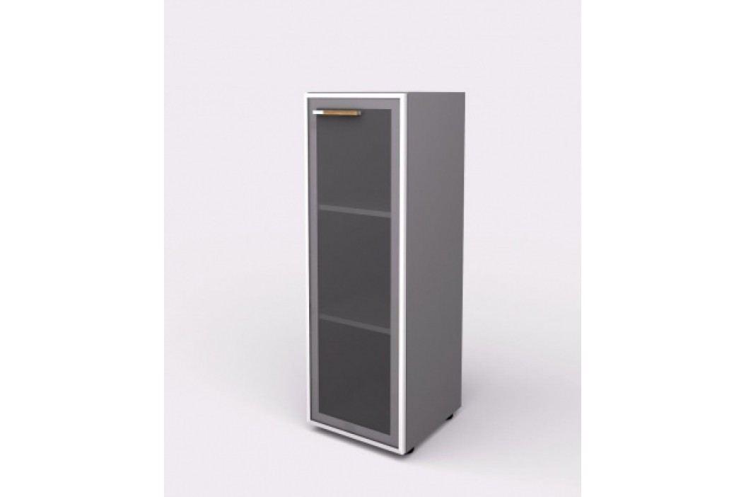 Lenza Skříň - skleněné dveře pravé