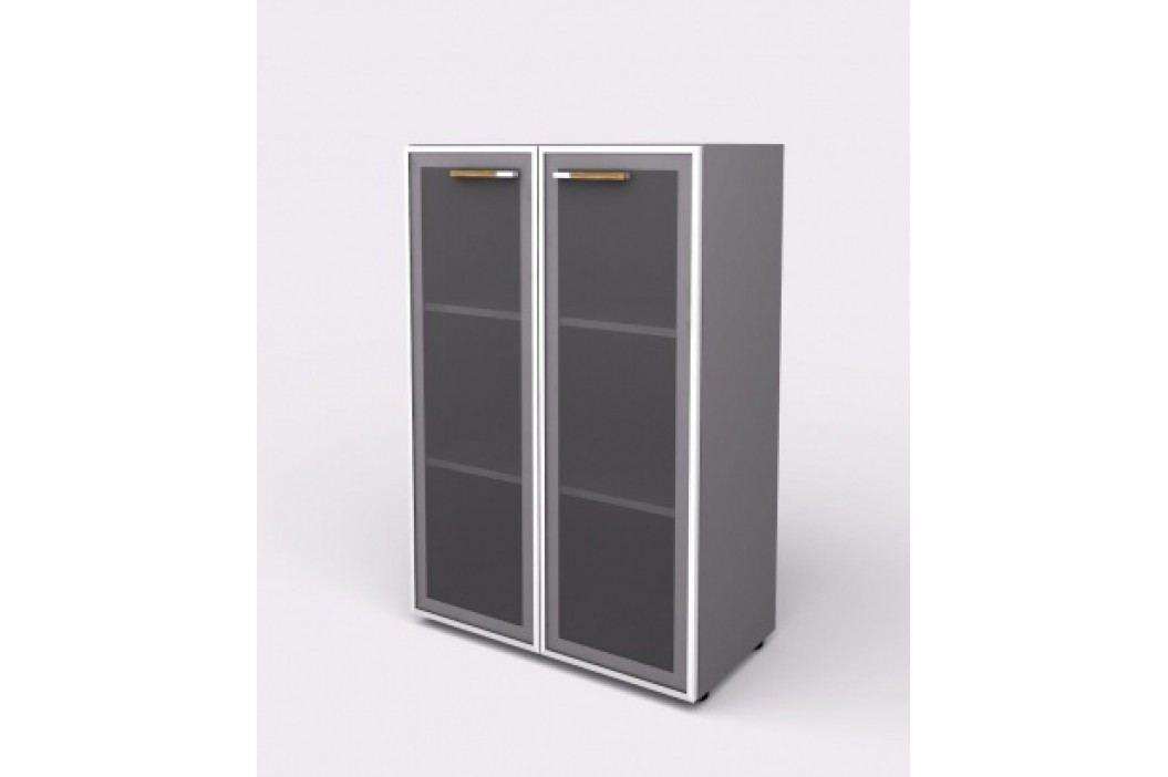 Lenza Skříň - skleněné dveře