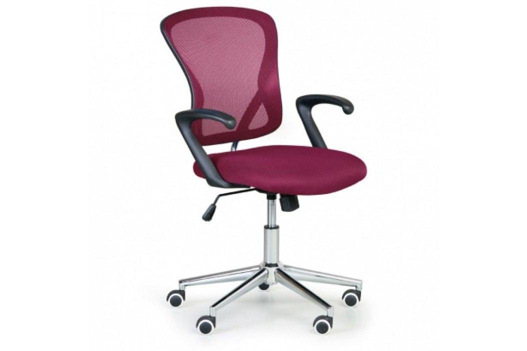 Kancelářská židle STYLUS, červená