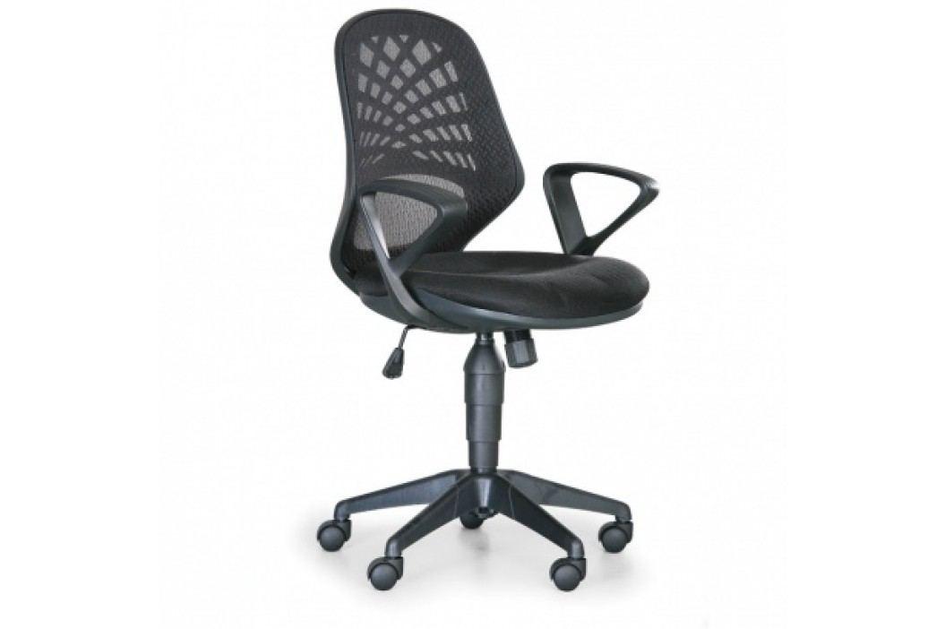 Kancelářská židle Fler, černá