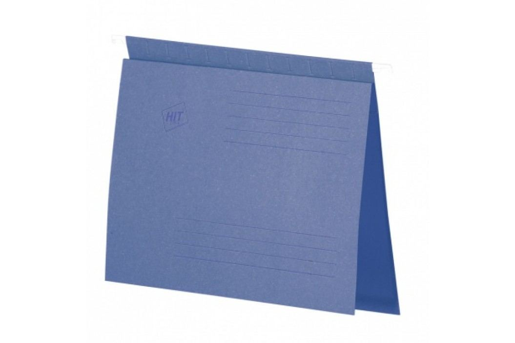 HIT Office Závěsné desky s rychlovazačem A4, modré, 50 ks