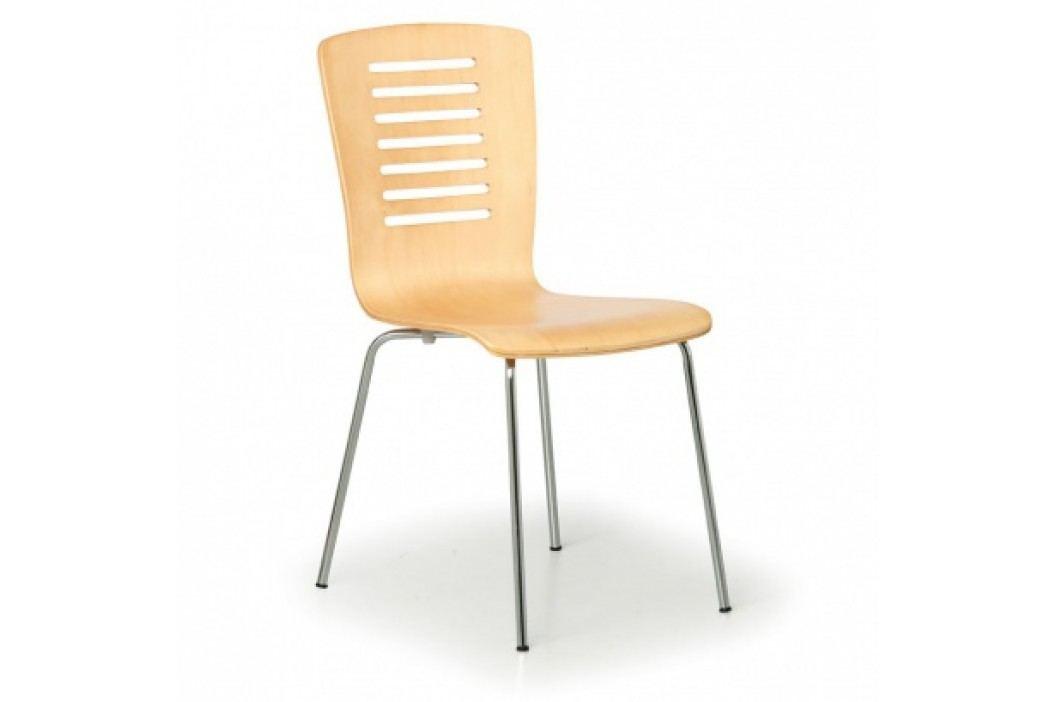 Dřevěná židle ONTARIO, přírodní