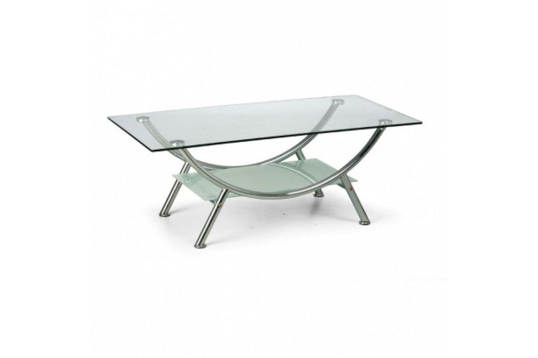 Konferenční stolek se skleněnou deskou
