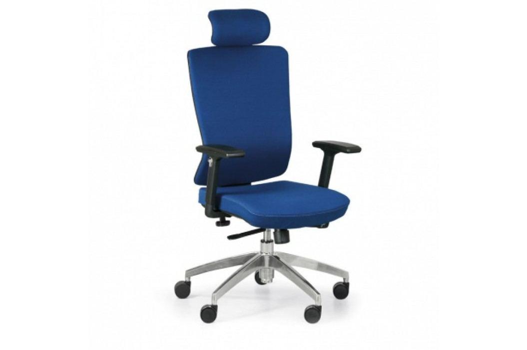Kancelářské křeslo Ned F, modrá