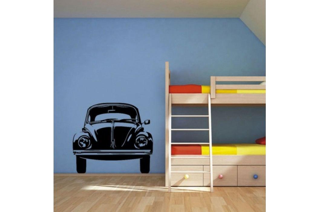 Vinylová samolepka na zeď, VW brouk