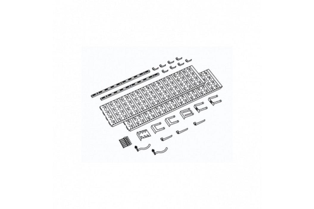 Element System Panel na nářadí a boxy, sada s 18 držáky na nářadí