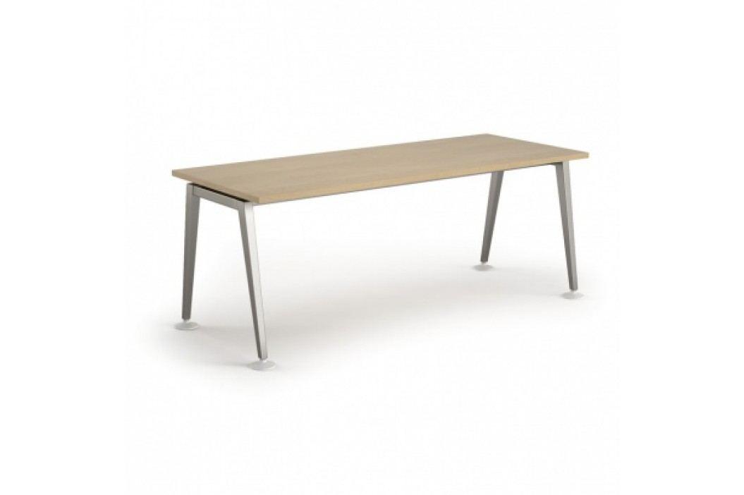 Jednací stůl Alfa 2000 x 900 mm, bříza obrázek inspirace