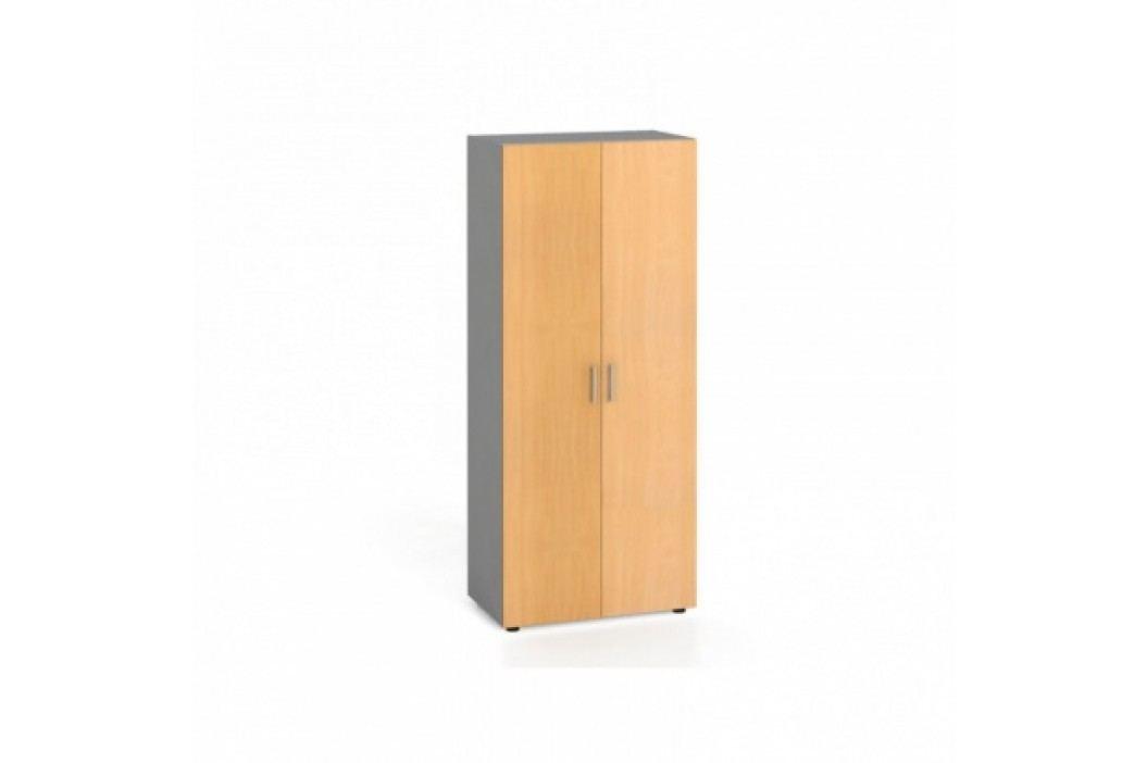 Šatní skříň s výsuvem, buk
