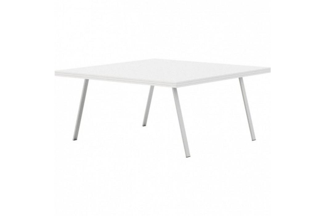 Bílý jednací stůl