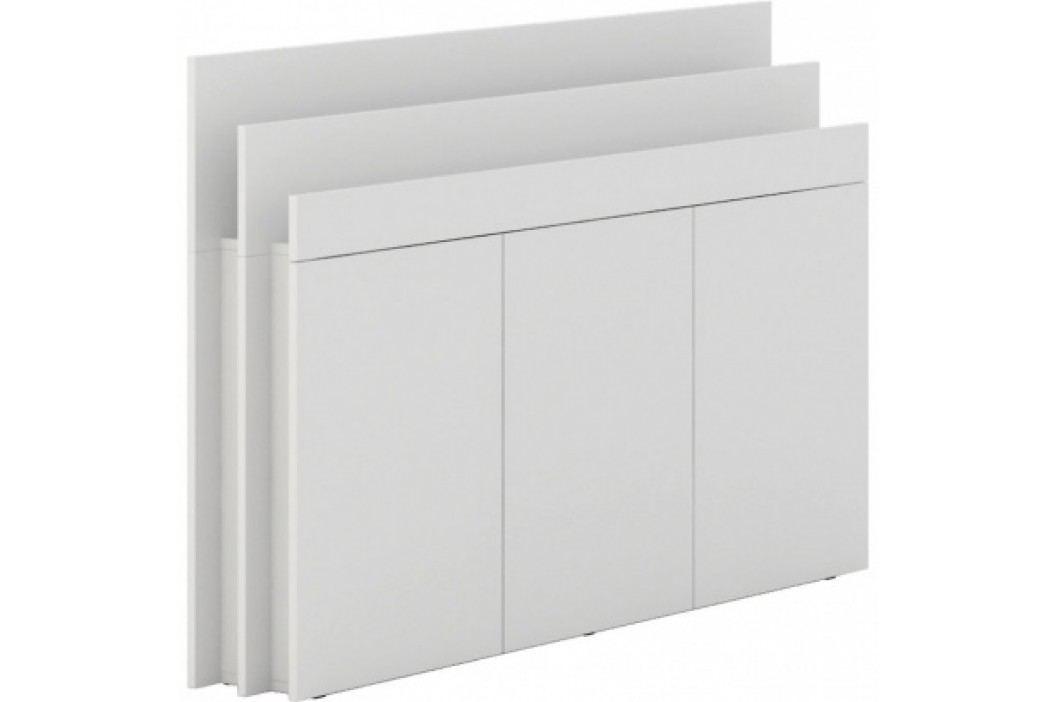 PLAN Přístavná skříň White LAYERS