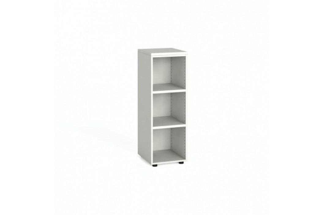 Kancelářský regál, 1087x400x420 mm, bílá