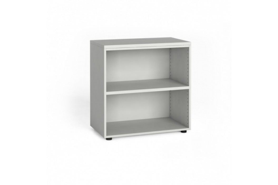 Kancelářský regál 740x800x420 mm, bílá