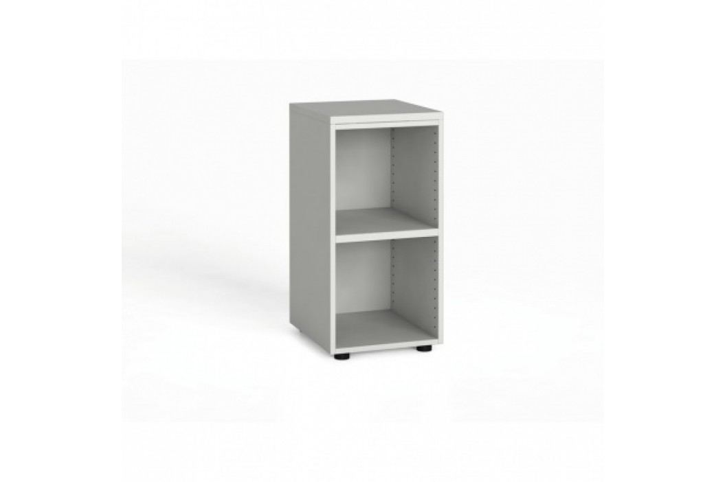 Kancelářský regál 740x400x420 mm, bílá
