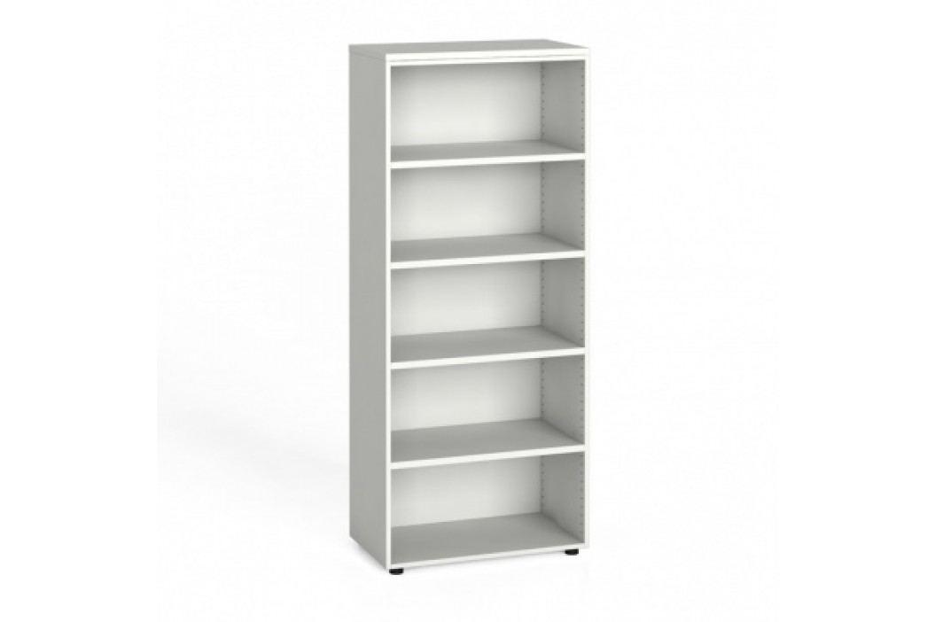 Kancelářský regál, 1781x800x420 mm, bílá