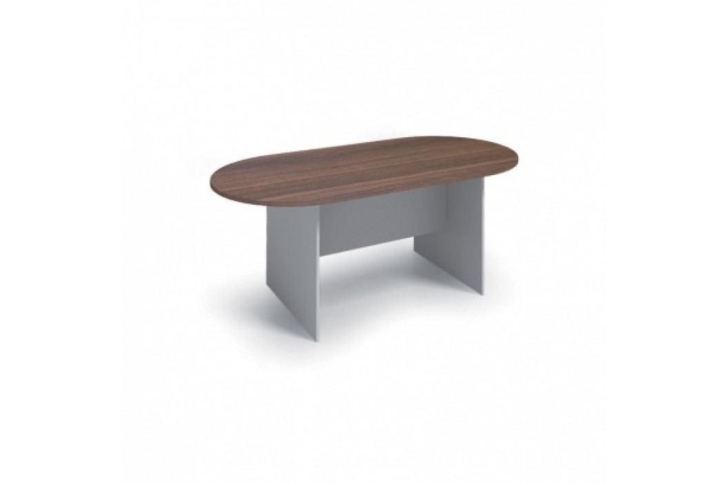 Jednací stůl PRIMO 1800x900 mm, oválný, buk